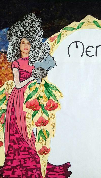 A la manière d'Alfons Mucha  