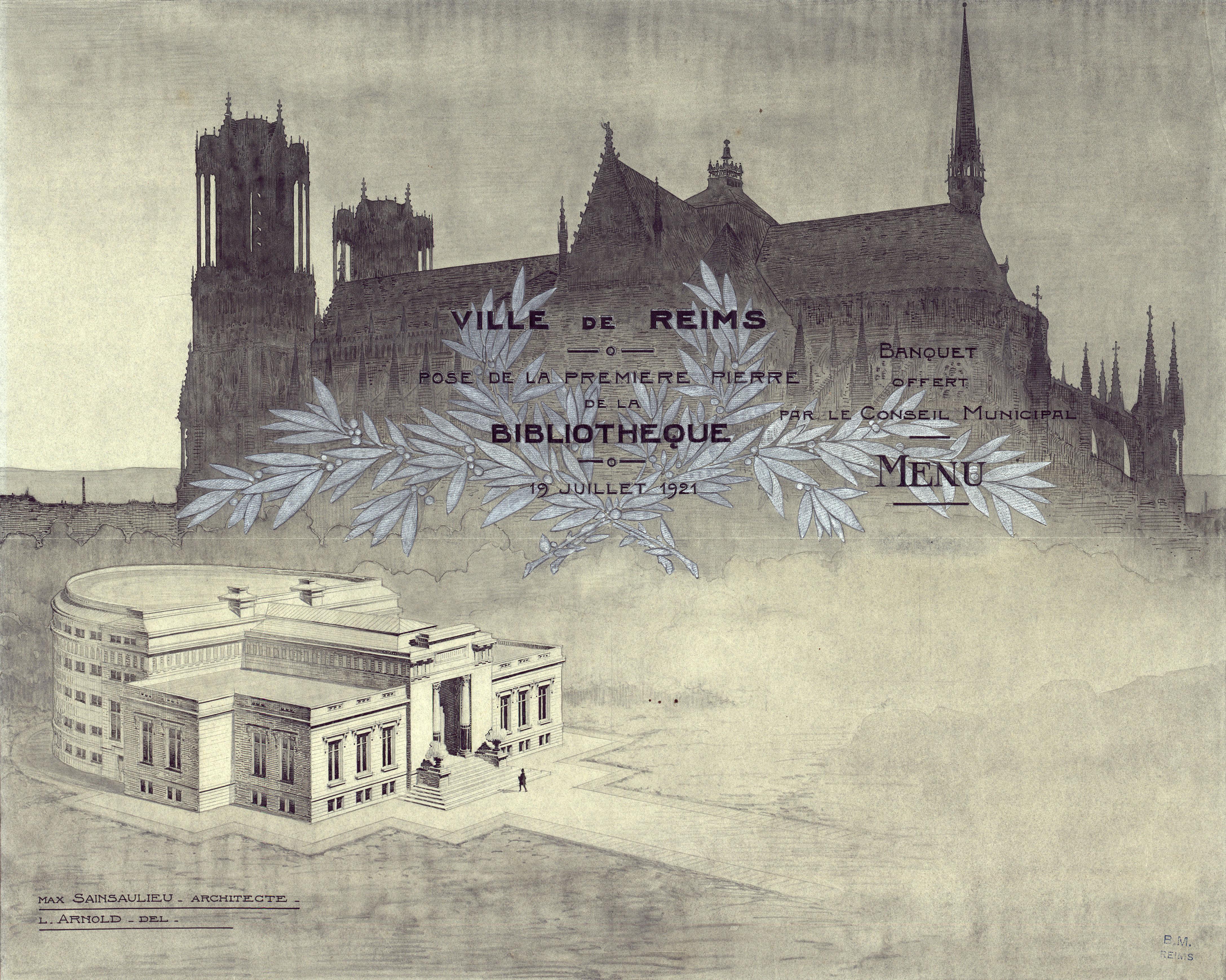 Biblioth Ques De Reims Cr Ation De Carnegie # Construire Une Bibliotheque